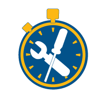 quickAssembly iconcircle stopwatch